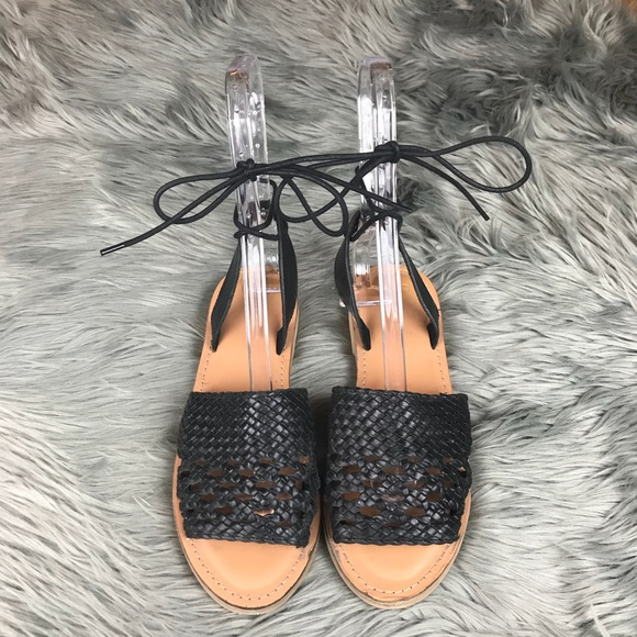 ASOS Shoes | Asos Woven Ankle Tie Lace